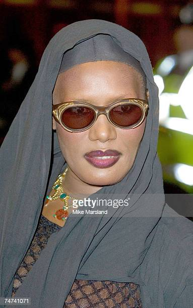 Grace Jones during The Times BFI 49th London Film Festival The Proposition at the The Odeon West End Leicester Square in London United Kingdom