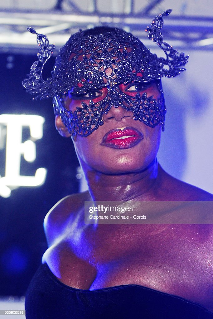 Grace Jones Performs at Le Baron during the 63rd Cannes International Film Festival.