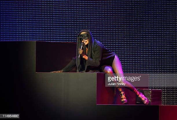 Grace Jones performs during the 61st FIFA Congress Opening Ceremony at Hallenstadion on May 31 2011 in Zurich Switzerland