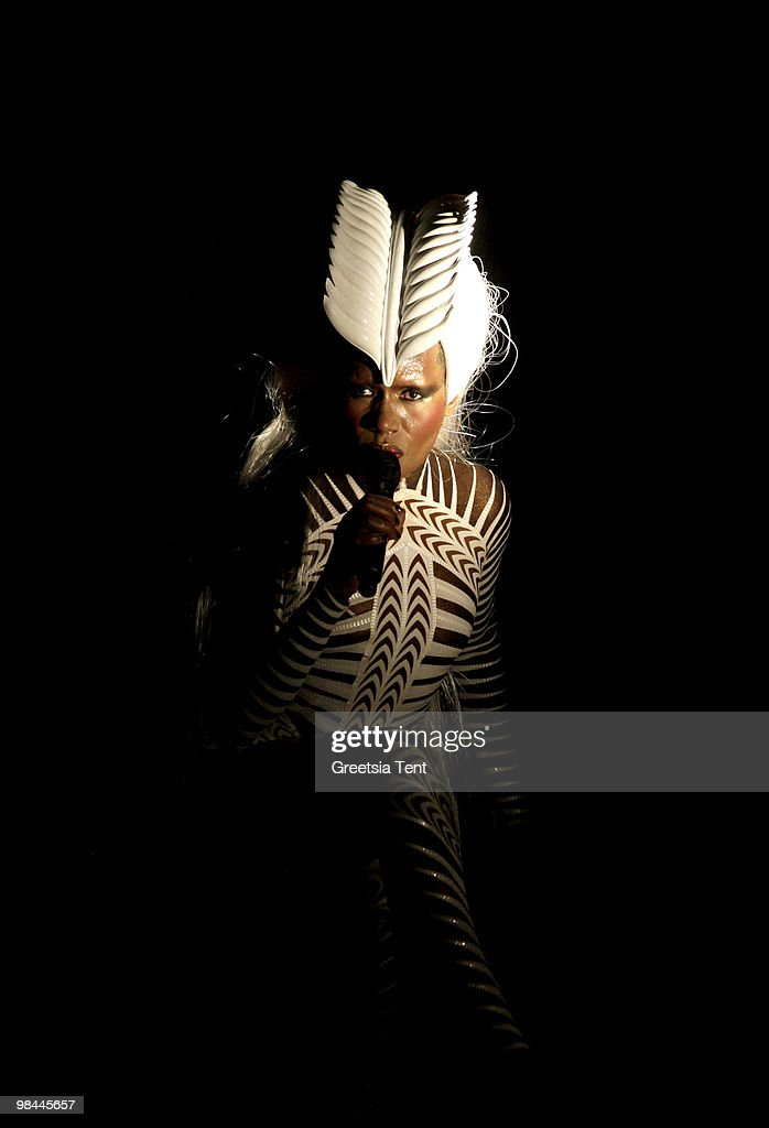 Grace Jones Performs At Vredenburg