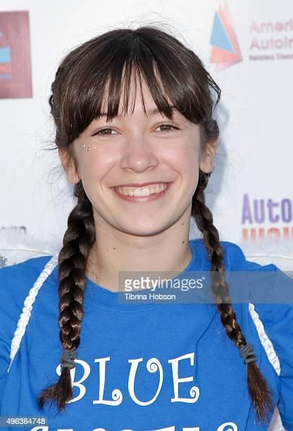 Grace Kaufman attends the Inaugural Los Angeles Autoimmune Walk hosted by Haley Ramm on November 8 2015 in Culver City California