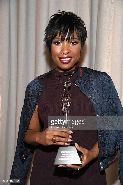 Grace Kelly Award Winner Jennifer Hudson poses with award during 2016 March of Dimes Celebration of Babies at the Beverly Wilshire Four Seasons Hotel...
