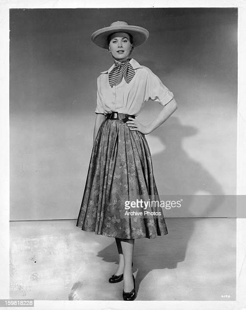 Grace Kelly, circa 1945.