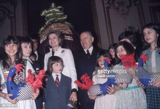 Grace Kelly est reçu au Sénat le 19 mars 1975 à Paris France