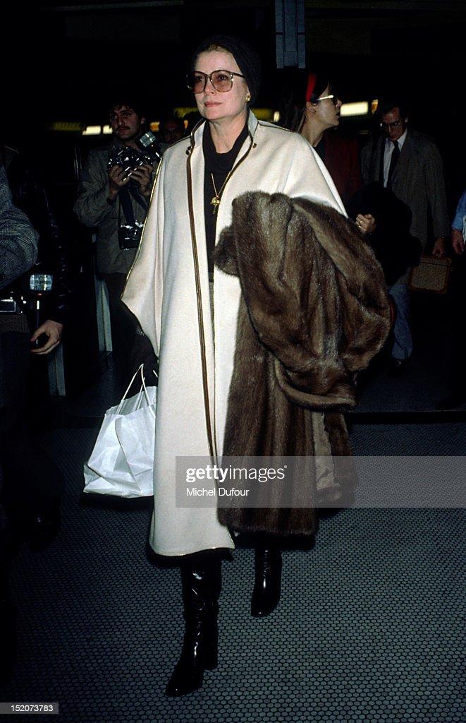 Grace Kelly in Paris,France.