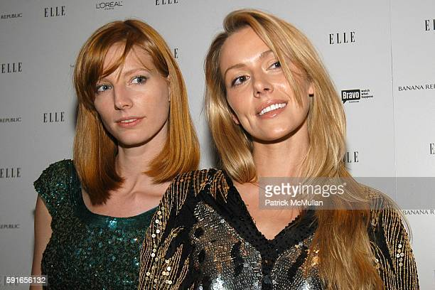 Grace Kelsey and Allison McAtee attend ELLE Magazine Hosts Viewing Party for 2nd Season Premiere of Bravo's EmmyNominated 'Project Runway' and Launch...