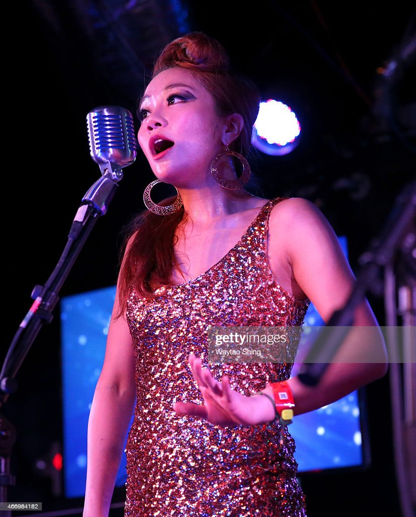 Grace Kim of The Barberettes performs onstage at KPop ...