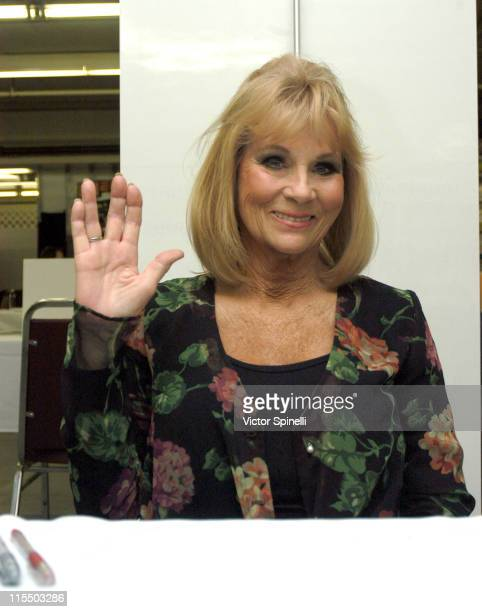 Grace Lee Whitney during Creation Entertainment's Grand Slam XIII The SciFi Summit Day Three at Pasadena Center in Pasadena California United States