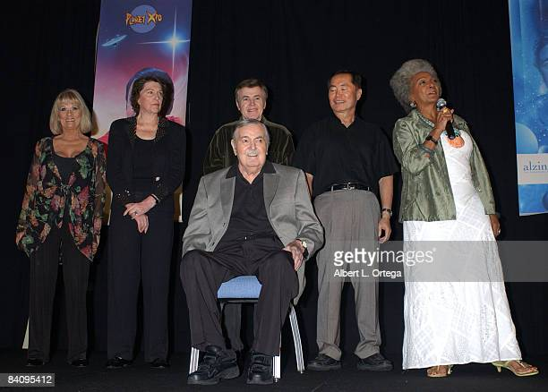 Grace Lee Whitney Majel Barrett Roddenberry Walter Koenig George Takei and Nichelle Nichols