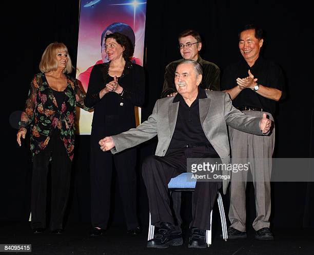 Grace Lee Whitney Majel Barrett Roddenberry Walter Koenig George Takei and James Doohan
