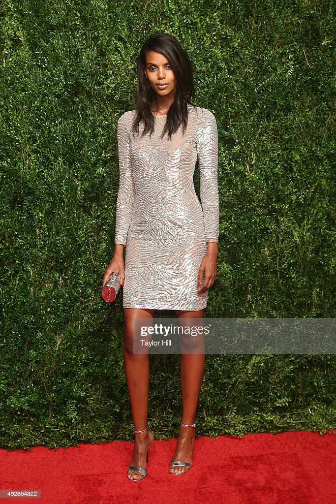 Grace Mahary attends the 2015 God's Love WE Deliver Golden Heart Awards at Spring Studios on October 15, 2015 in New York City.