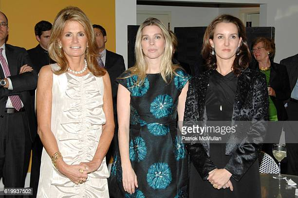 Grace Meigher Alexandra Lind Rose and Alexia Hamm Ryan attend Michel Cox Witmer hosts a kickoff for the SMSKCC Preview Party for the International...