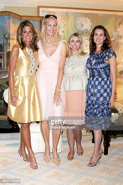 Grace Meigher Joanne de Guardiola Alexandra Lind Rose and Alexia Hamm Ryan attend The Society of MSKCC and ELLE DECOR Host cocktails in Honor of...