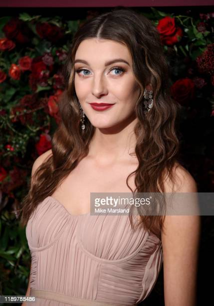 Grace Molony attends the 65th Evening Standard Theatre Awards at the London Coliseum on November 24 2019 in London England