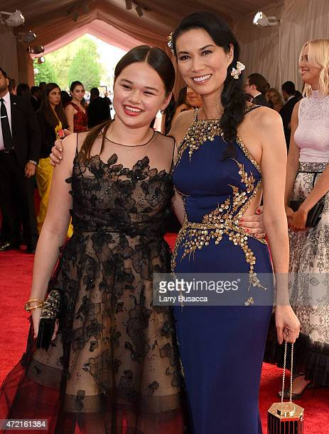 Grace Murdoch and Wendi Murdoch attend the China Through The Looking Glass Costume Institute Benefit Gala at the Metropolitan Museum of Art on May 4...
