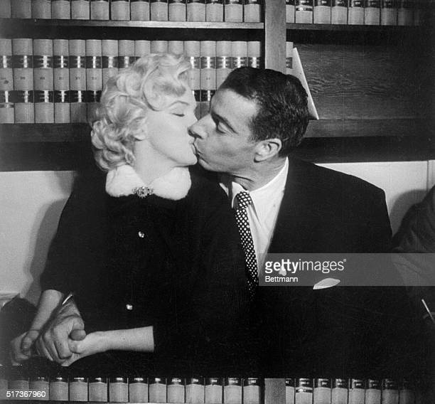Grace must be natural and Marilyn Monroe and Joe DiMaggio, demonstrate that without rehearsal . This sequence of pictures were taken in the judge's...