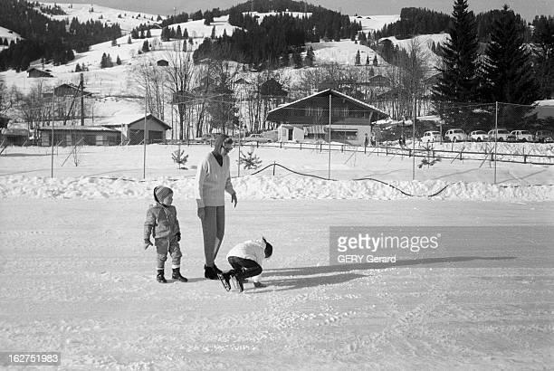 Grace Of Monaco On Holiday In St Moritz Suisse 8 février 1962 la Princesse GRÂCE DE MONACO en vacances dans la station de ski SaintMoritz GRÂCE DE...