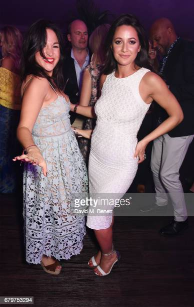 Grace O'Leary and Roxie Nafousi attend the Audi Polo Challenge at Coworth Park on May 6 2017 in Ascot United Kingdom