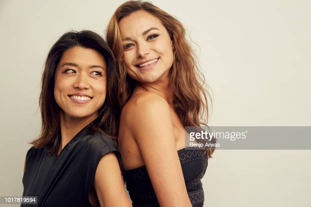 Grace Park and Christina Ochoa of ABC's 'A Million Little Things' pose for a portrait during the 2018 Summer Television Critics Association Press...