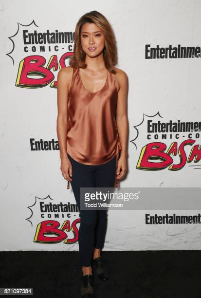 Grace Park at Entertainment Weekly's annual ComicCon party in celebration of ComicCon 2017 at Float at Hard Rock Hotel San Diego on July 22 2017 in...