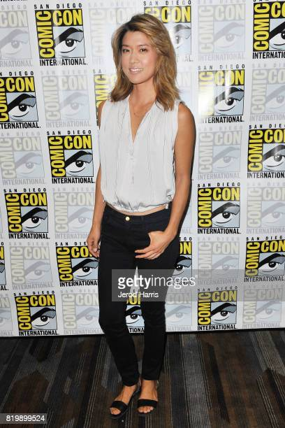 Grace Park attends ComicCon International 2017 Day 1 on July 20 2017 in San Diego California