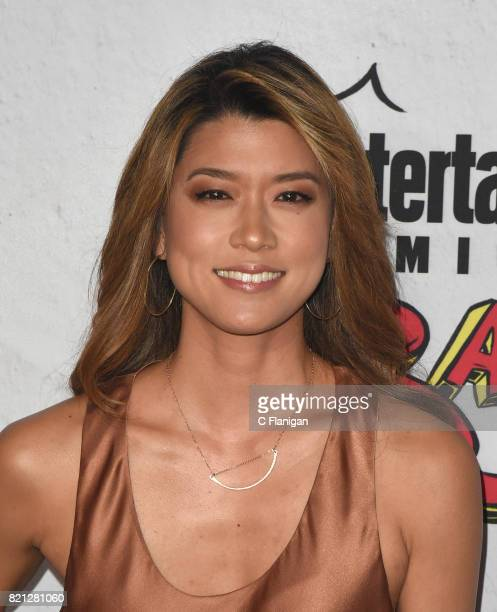 Grace Park attends the Entertainment Weekly's Annual ComicCon Party 2017 at Float at Hard Rock Hotel San Diego on July 22 2017 in San Diego California
