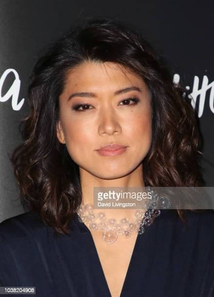 """Grace Park attends the premiere of ABC's """"A Million Little Things"""" at LACMA on September 22, 2018 in Los Angeles, California."""