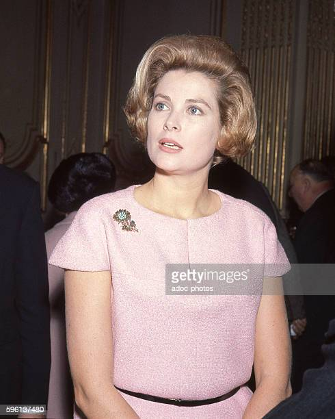 Grace Patricia Kelly American film actress who after marrying Prince Rainier III became Princess of Monaco In 1966