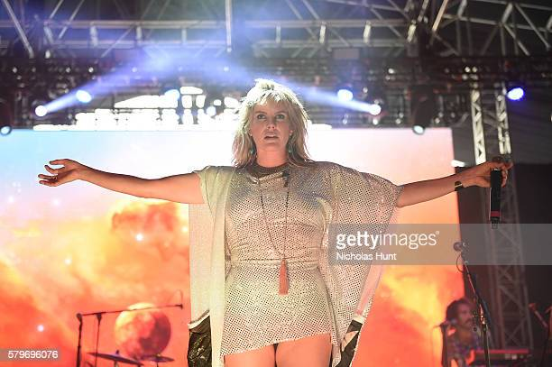 Grace Potter and the Nocturnals perform onstage at the 2016 Panorama NYC Festival Day 3 at Randall's Island on July 24 2016 in New York City