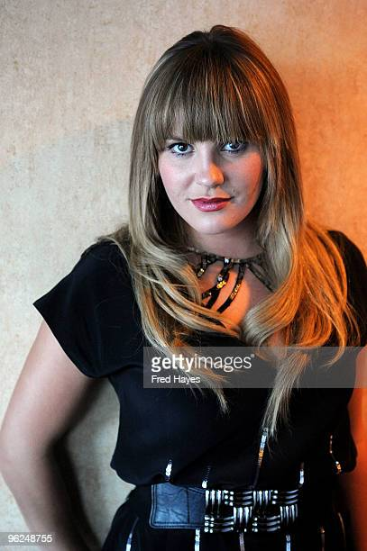 Grace Potter of Grace Potter and the Nocturnals attends Music Cafe Day 7 during the 2010 Sundance Film Festival at Stanfield Gallery on January 28...