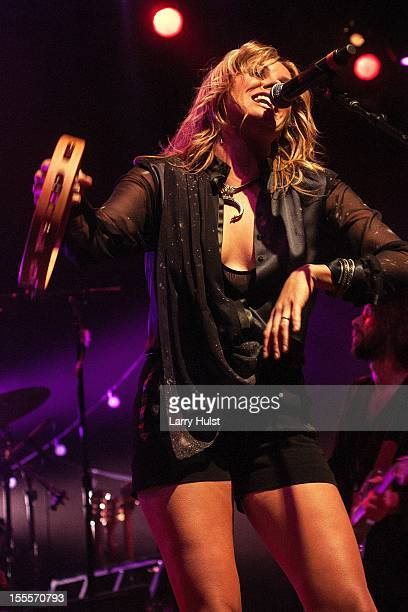 Grace Potter performing with 'Grace Porter and The Nocaturnals' at the Fillmore Auditorium in Denver Colorado on October 26 2012