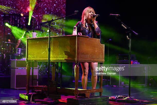 Grace Potter performs live on stage at Radio City Music Hall on October 3 2015 in New York City