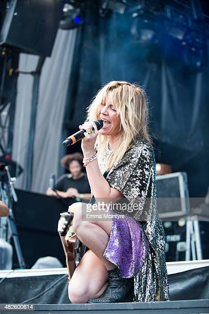 Grace Potter performs on Day One of the Osheaga Music and Arts Festival on July 31 2015 in Montreal Canada
