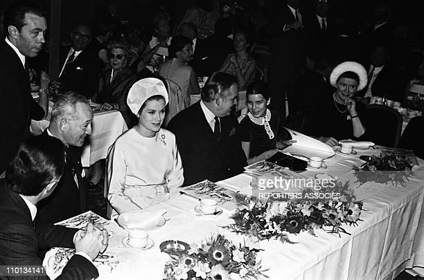 Grace Rainier and Caroline of Monaco in the 1960s