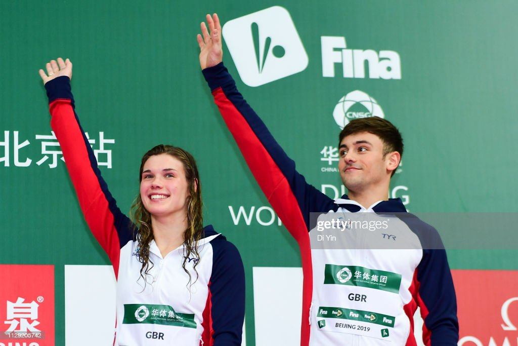 FINA World Diving Series - Day 2 : News Photo