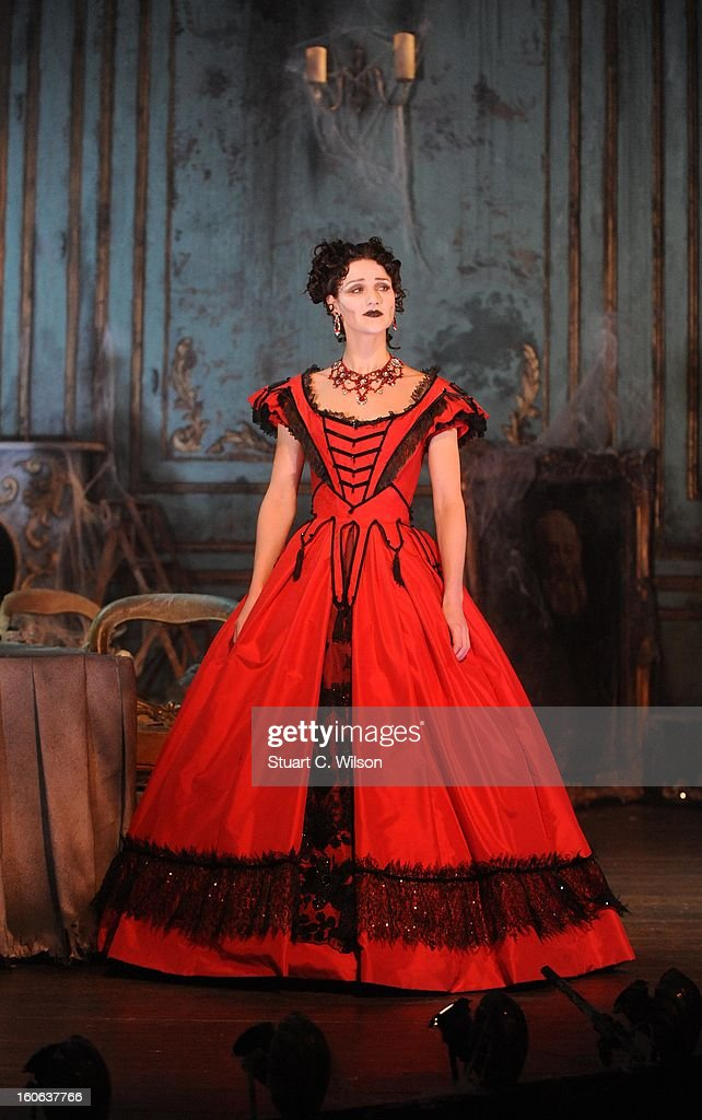 Grace Rowe as Estella poses during a photocall for 'Great Expectations' at Vaudeville Theatre on February 4, 2013 in London, England.