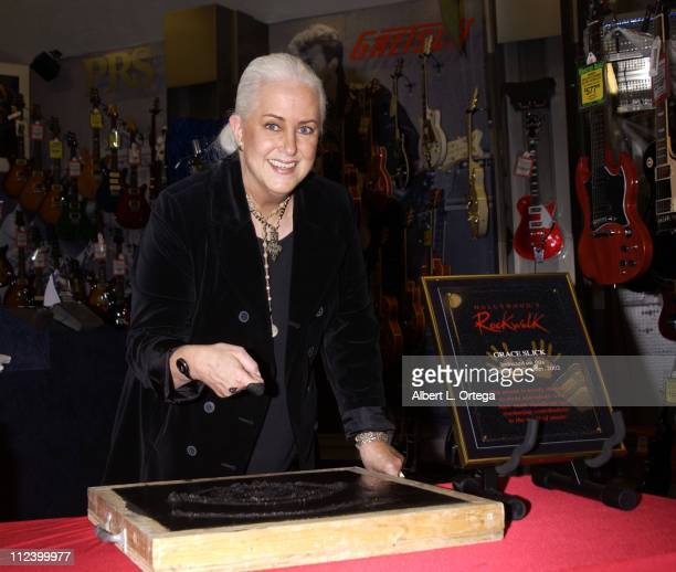 Grace Slick of Jefferson Airplane Jefferson Starship and Starship