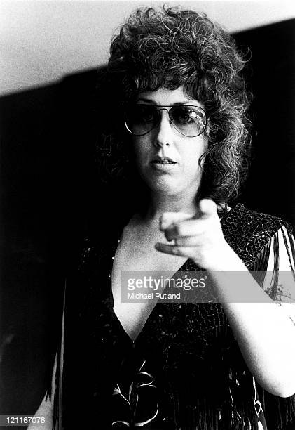 Grace Slick of Jefferson Starship portrait London 13th June 1973