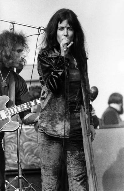 Grace Slick In Black Leather Jacket Pictures Getty Images