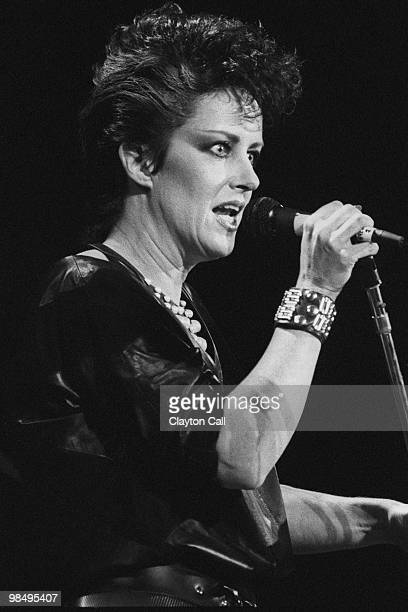 Grace Slick performing at the Bay Area Music Awards at the San Francisco Civic Center on March 2 1984