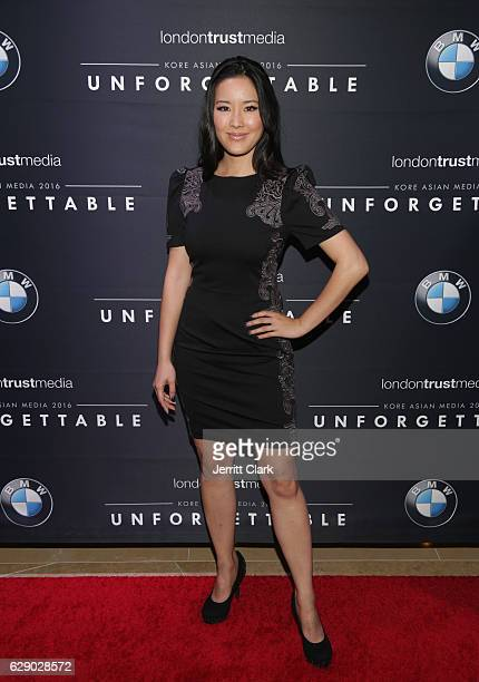 Grace Su attends the 15th Annual Unforgettable Gala at The Beverly Hilton Hotel on December 10 2016 in Beverly Hills California