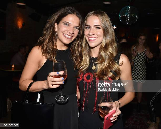 Grace Thomas and Caroline McGowan attend the Nicole Miller Spring 2019 After Party at Acme on September 6 2018 in New York City