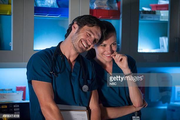 SHIFT 'Grace Under Fire' Episode 103 Pictured Eoin Macken as Dr TC Callahan Jill Flint as Jordan Alexander