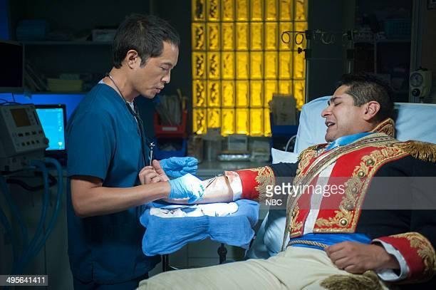 SHIFT Grace Under Fire Episode 103 Pictured Ken Leung as Topher Zia
