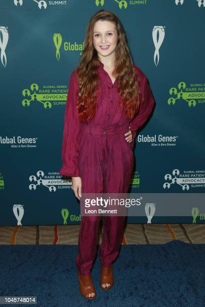 Grace Van Brunt attends Global Genes' 7th Annual RARE Patient Advocacy Summit And RARE Champions Of Hope Celebration at Hotel Irvine on October 4,...