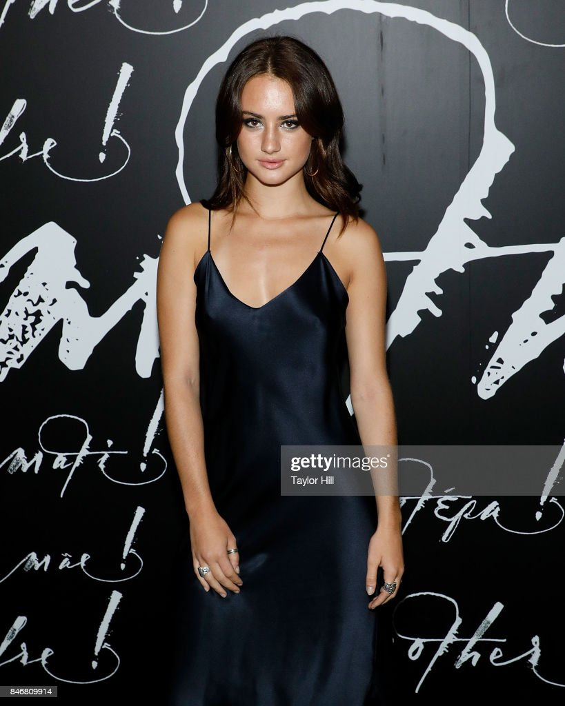 Grace Van Patten attends the premiere of 'mother!' at Radio City Music Hall on September 13, 2017 in New York City.