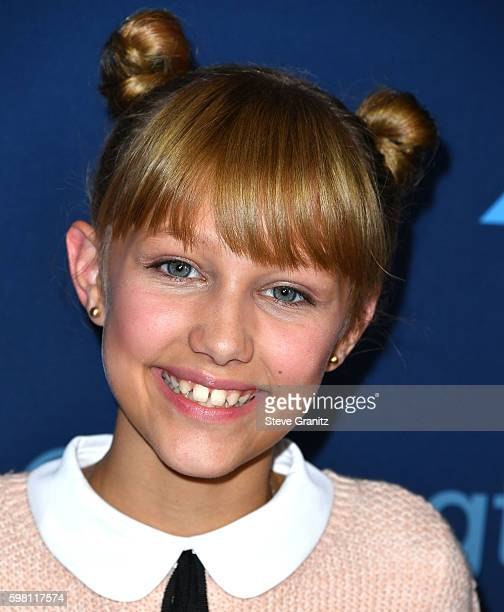 Grace Vanderwaal arrives at at the America's Got Talent' Season 11 Live Show at Dolby Theatre on August 30 2016 in Hollywood California