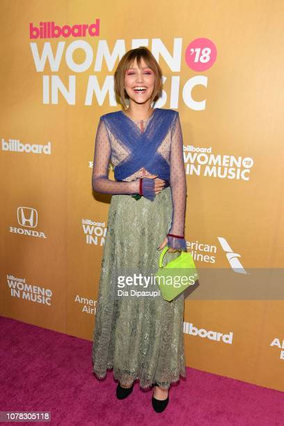 Grace VanderWaal attends Billboard's 13th Annual Women in Music Event at Pier 36 on December 06 2018 in New York City