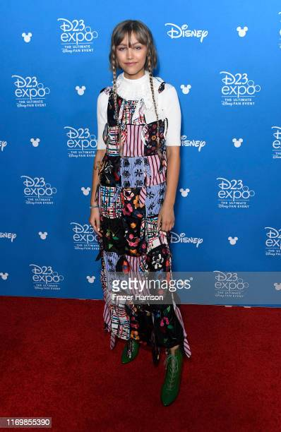 Grace VanderWaal attends D23 Disney+ event at Anaheim Convention Center on August 23, 2019 in Anaheim, California.