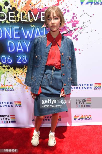 Grace VanderWaal attends Pride Live's 2019 Stonewall Day on June 28, 2019 in New York City.